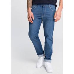 bugatti 5-Pocket-Jeans mit eingelassener Coinpocket blau 42