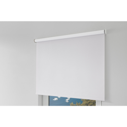 Erfal Smartcontrol Rollo by Homematic IP, 140 x 230 cm (B x H), blickdicht abdunkelnd weiß
