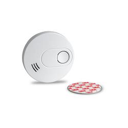SEBSON Rauchwarnmelder inkl. Magnethalter, 10 Jahres Langzeit Batterie, Rauchmelder DIN EN 14604 VdS 3131, Stummschaltung, GS526 q zertifiziert Rauchmelder