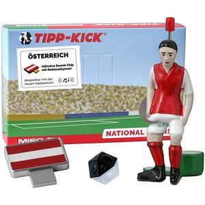 TIPP-KICK Österreich-Box I Original Set Österreich-Star-Kicker & Österreich-Soundchip in der Torwandbox I Figur Spiel I Zubehör