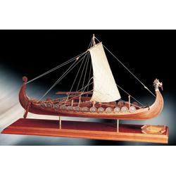 Baukasten Wikingerschiff Oseberg 1:50