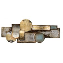 Metallobjekt VERWIRRUNG(LBH 40x120x6 cm)