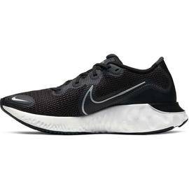 Nike Renew Run W black/white/dark smoke/grey/metallic silver 36,5