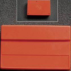 WeroPlast HITPULT 3005 Pult-Gehäuse 162 x 104 x 50 ABS Schwarz 1St.