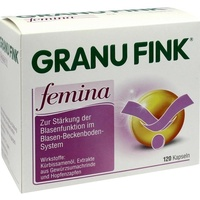 Omega Pharma Deutschland GmbH GRANU FINK Femina Kapseln 120 St.