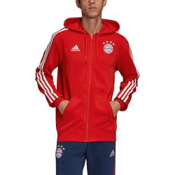 Adidas FC Bayern Kapuzenjacke FCB 3S FZ HD - L