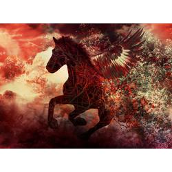 Fototapete Apocalypse Fantasy Horse, glatt 3,50 m x 2,60 m