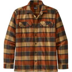 Patagonia - M's L/S Fjord Flanne - Hemden - Größe: XL