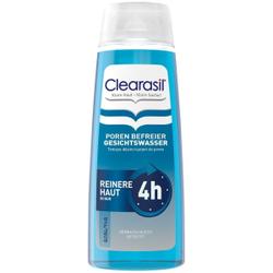 Clearasil Poren Befreier Gesichtswasser, Hautklärendes Gesichtswasser, entfernt Verschmutzungen, Fett und Bakterien, 200 ml - Flasche