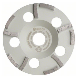 BOSCH Schleifteller Ø 125mm Diamanttopfscheibe Expert for Concrete Ext