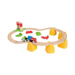 BRIO® Spielzeugeisenbahn-Set Mein erstes BRIO Bahn Set mit Batterielok