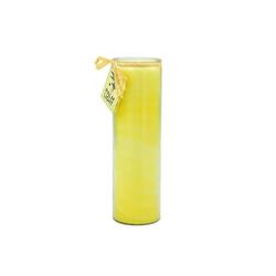yogabox Duftkerze NUANCE Kerze GELB ca. 20 cm