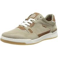 MUSTANG Herren 4166-301 Sneaker, Beige, 45 EU