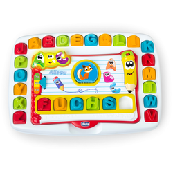 Chicco Lernspielzeug Lern- & Lese-Schreibtafel bunt Kinder Lernspiele
