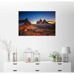 Posterlounge Wandbild, Dreizinnen dolomiten 60 cm x 40 cm