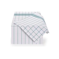 Blumtal Geschirrtuch Hochwertige Geschirrhandtücher im praktischen Set in der Größe 50x70 cm, (Set, 20-tlg., Set bestehend aus 5, 10 oder 20), 100% Baumwolle grün