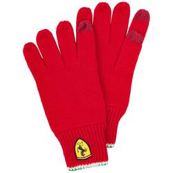 Scuderia Ferrari Rękawice dziane do ekranu dotykowego 130191027-600 - Rozmiar: rozmiar uniwersalny