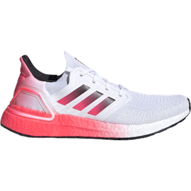 adidas Ultraboost 20 M cloud white/core black/signal pink/coral 46