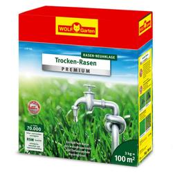 Trockenrasen Rasen Neuanlage L-TP 100 | 3kg | für 100 m²