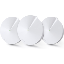 Tp-Link Deco M9 Plus Triband WLAN Mesh 3er Set (AC2200), Router, Weiss