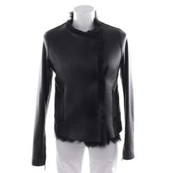 STRENESSE Damen Lederjacke schwarz, Größe 34, 4911249
