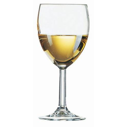 Weinglas SAVOIE, Inhalt: 0,35 Liter, Höhe: 183 mm, Durchmesser: 84 mm.