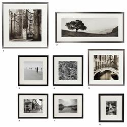 Casa Padrino Bilder / Kunstdruck 8er Set Urlaubsbilder Mehrfarbig - Luxus Wanddekoration
