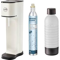 My Sodapop Wassersprudler Joy Fashion Weiß (matt) inkl. 1 PET-Flasche, und 1 CO2-Zylinder