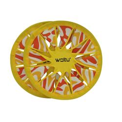 Woltu Outdoor-Spielzeug, Neopren, (1-tlg) 2 x Neopren Frisbee 30cm Wurfscheibe Frisbeescheibe Set Strand Spiel Scheibe