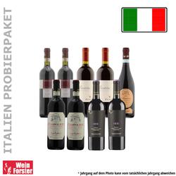 Probierpaket italienische Rotweine