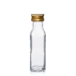 100ml Klarglasflasche