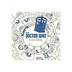 Doctor Who Colouring Book - Buch