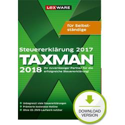 Lexware TAXMAN 2018 für Selbstständige (für Steuerjahr 2017)