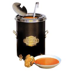 Hot-Pot Suppentopf schwarz