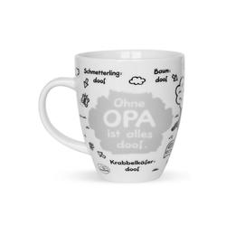"Sheepworld Tasse Sheepworld - Tasse ""Ohne ... ist alles doof"" 0,5l ODIAD Geschenk Kaffee- Tasse Motiv: Opa"