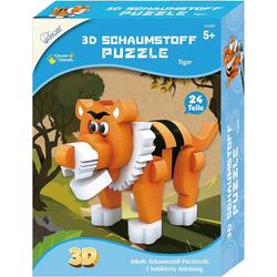 MAMMUT Spiel und Geschenk 3D-Puzzle 3D Schaumstoff Puzzle Tiger, Puzzleteile