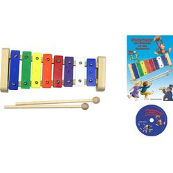 Clifton Spielzeug-Musikinstrument Metallophon bunt Musikspielzeug Musikinstrumente Spielzeug-Musikinstrumente