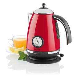 Wasserkocher Teekessel 1,7l 2200W Thermometer »Aquavita Chalet«, Wasserkocher, 35874904-0 rot rot