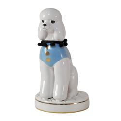 Goebel Tierfigur Special Dogs - Pudel Chiceria - Uta Koloczek