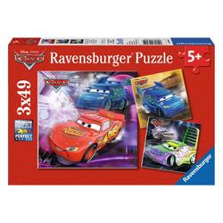 Ravensburger Puzzle Disney Cars Auf Der Rennstrecke, 147 Puzzleteile