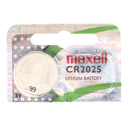 Maxell CR2025 Lithium Batterie IEC CR2025