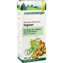 INGWER PFLANZENTRUNK SCHOENENBERGER