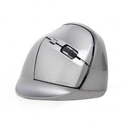 Gembird MUSW-ERGO-02 Funk Ergonomische Maus Optisch Ergonomisch Grau