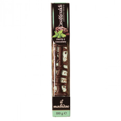 Casa Rinaldi Soft Nougat Riegel mit Minze und Schokolade 100g