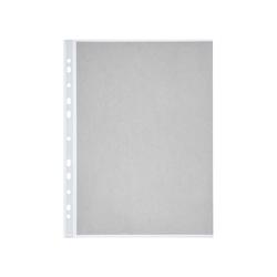 memo 100 Prospekthüllen oben/seitlich offen genarbt