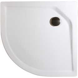 Schulte Rundduschwanne Extraflach, rund, Sanitäracryl, BxT: 100 x 100 cm