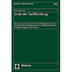 Ende der Tarifbindung. Janna Terhorst  - Buch