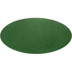 Rasenteppich Kunstrasen Field, Andiamo, rund, Höhe 4 mm Ø 130 cm x 130 cm x 130 cm x 4 mm