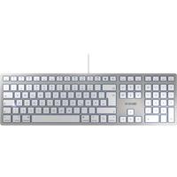 Cherry KC 6000 Slim für MAC DE silber/weiß (JK-1610DE-1)