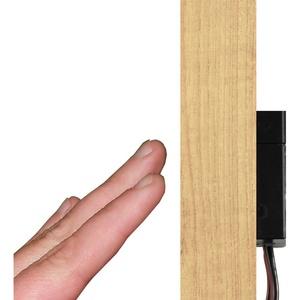 kalb Schalter kalb LED Berührungsschalter dimmbar Holz unsichtbar 12V/50W/max. 4.16A einbaubar im Möbel
